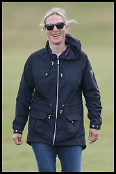 June 11, 2017 - Westonbirt, United Kingdom - Image licensed to i-Images Picture Agency. 11/06/2017. Westonbirt, United Kingdom. Zara Philips at the Gloucestershire Festival of Polo at Beaufort Polo Club in Westonbirt, Gloucestershire, United Kingdom. Picture by Stephen Lock / i-Images (Credit Image: © Stephen Lock/i-Images via ZUMA Press)