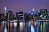 Midtown Manhattan Skyline & East River