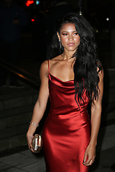 Vick Hope arrives at the Late Fabulous Fund Fair at the Roundhouse in London during the Autumn/Winter 2019 London Fashion Week. PRESS ASSOCIATION. Picture date: Monday February 18, 2019. Photo credit should read: Isabel Infantes/PA Wire