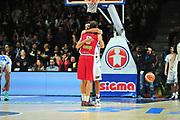 DESCRIZIONE : Campionato 2014/15 Dinamo Banco di Sardegna Sassari - Victoria Libertas Consultinvest Pesaro<br /> GIOCATORE : Tommaso Raspino Massimo Chessa<br /> CATEGORIA : Fair Play<br /> SQUADRA : Victoria Libertas Consultinvest Pesaro<br /> EVENTO : LegaBasket Serie A Beko 2014/2015<br /> GARA : Dinamo Banco di Sardegna Sassari - Victoria Libertas Consultinvest Pesaro<br /> DATA : 17/11/2014<br /> SPORT : Pallacanestro <br /> AUTORE : Agenzia Ciamillo-Castoria / M.Turrini<br /> Galleria : LegaBasket Serie A Beko 2014/2015<br /> Fotonotizia : Campionato 2014/15 Dinamo Banco di Sardegna Sassari - Victoria Libertas Consultinvest Pesaro<br /> Predefinita :