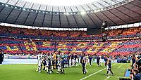 Tifosi Barcellona Supporters <br /> Berlino 06-06-2015 OlympiaStadion  <br /> Juventus Barcelona - Juventus Barcellona <br /> Finale Final Champions League 2014/2015 <br /> Foto Matteo Gribaudi/Image Sport/Insidefoto