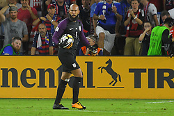 October 6, 2017 - Orlando, Florida, USA - United States goalkeeper Tim Howard (1) during a World Cup qualifying game against Panama at Orlando City Stadium on Oct. 6, 2017 in Orlando, Florida. The US won 4-0....ZUMA Press/Scott A. Miller (Credit Image: © Scott A. Miller via ZUMA Wire)