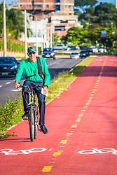 Ciclovia em Canoas. FOTO: André Feltes/ Agência Preview