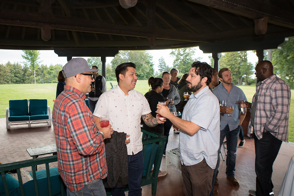 Shelburne, VT - September 8, 2019: The first day of the Chefs Boot Camp for Policy and Change hosted by the James Beard Foundation at Shelburne Farms.<br /> <br /> Photos by Clay Williams for The James Beard Foundation.<br /> <br /> © Clay Williams / claywilliamsphoto.com