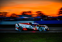 March 13, 2019 - Sebring, Etats Unis - 7 TOYOTA GAZOO RACING (JPN) TOYOTA TS050 HYBRID LMP1 MIKE CONWAY (GBR) JOSE MARIA LOPEZ (ARG) KAMUI KOBAYASHI  (Credit Image: © Panoramic via ZUMA Press)