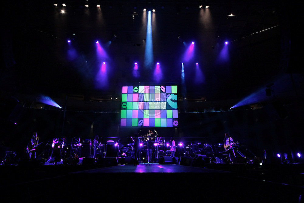 The Beum  PSAV projection screens at Key Arena during Yim Jae Beum concert.