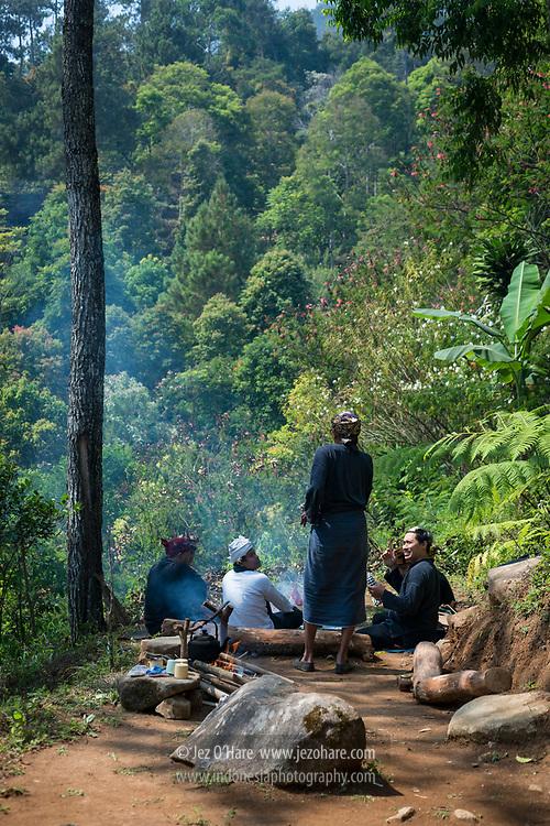 Gunung Puntang, Bandung, Jawa Barat, Indonesia.