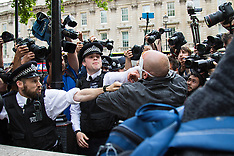 2015-05-27 Scuffles as anti-Tory protests follow Opening of Parliament