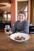 Gary Kucy of Rupert's in McCall Idaho, Beef Stroganoff