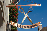 Lachmann signboard - ( Gy?r )  Gyor Hungary .<br /> <br /> Visit our HUNGARY HISTORIC PLACES PHOTO COLLECTIONS for more photos to download or buy as wall art prints https://funkystock.photoshelter.com/gallery-collection/Pictures-Images-of-Hungary-Photos-of-Hungarian-Historic-Landmark-Sites/C0000Te8AnPgxjRg