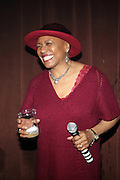 DeeDee BridgeWater at The ROOTS Present the Jam Produced by Jill Newman Productions on March 19, 2009 held at Highline Ballroom in New York City.
