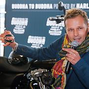 ND/Amsterdam/20130322- Onthulling Buddha2Buddha motor, Batul Loomans