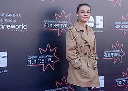 Judges photocall at Edinburgh International Film Festival<br /> <br /> Pictured: Outlander star Sophie Skelton