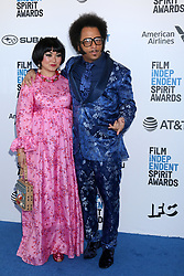 February 23, 2019 - Santa Monica, CA, USA - LOS ANGELES - FEB 23:  Gabby La La, Boots Riley at the 2019 Film Independent Spirit Awards on the Beach on February 23, 2019 in Santa Monica, CA (Credit Image: © Kay Blake/ZUMA Wire)