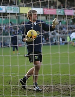 Photo: Lee Earle.<br /> Plymouth Argyle v Norwich City. Coca Cola Championship.<br /> 14/01/2006. Norwich's Rob Green makes the starting line-up after injury.