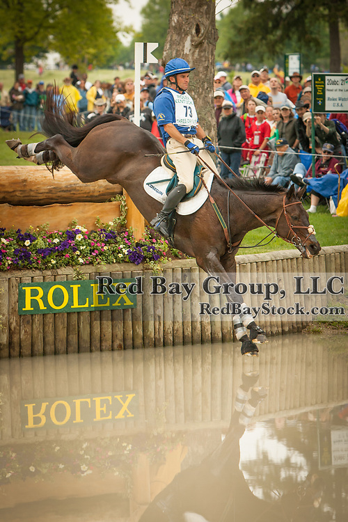 Phillip Dutton (AUS) and Amazing Odyssey at the 2006 Rolex Kentucky Three-Day Event in Lexington, Kentucky.