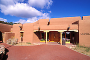 The visitor center at Pecos National Historic Park, New Mexico