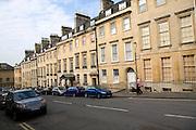 Georgian terraced houses, Russel Street, Bath