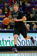 FORT WORTH, TX - JANUARY 7: Will Spradling #55 of the Kansas State Wildcats brings the ball up court against the TCU Horned Frogs on January 7, 2014 at Daniel-Meyer Coliseum in Fort Worth, Texas.  (Photo by Cooper Neill/Getty Images) *** Local Caption *** Will Spradling