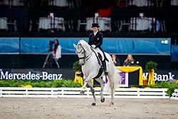 Aerne Anna-Mengia, SUI, Raffaello va Bene <br /> Stuttgart German Masters 2017<br /> © Hippo Foto - Stefan Lafrentz<br /> 17/11/17