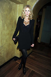 DONNA AIR at a party to celebrate the 10th Anniversary of Claridge's Bar, Claridge's Hotel, Brook Street, London on 11th November 2008.