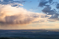 Storm clouds Bridger-Teton National Forest. Sublette County, Wyoming