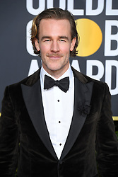 January 6, 2019 - Los Angeles, California, U.S. - James Van Der Beek during red carpet arrivals for the 76th Annual Golden Globe Awards at The Beverly Hilton Hotel. (Credit Image: © Kevin Sullivan via ZUMA Wire)