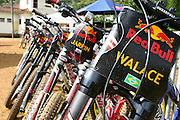 Mariana_MG, Brasil...Bicicletas no Red Bull Desafio da Mina de Ouro, competicao de downhill dentro de uma mina de ouro desativada, a Mina da Passagem...Bikes in the Red Bull challenge in the Goldmine, the downhill competition inside a deactivated goldmine, the Passage mine...Foto: LEO DRUMOND / NITRO..