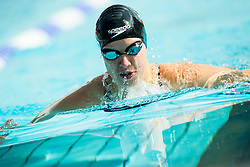 Tjasa Vozel competes in 200m Breaststroke during Slovenian Swimming National Championship 2014, on August 3, 2014 in Ravne na Koroskem, Slovenia. Photo by Vid Ponikvar / Sportida.com