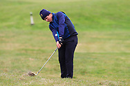 Giovanni Siani (Circolo Golf Villa d'Este)(ITA) on the 17th during Round 3 of the Ulster Boys Championship at Donegal Golf Club, Murvagh, Donegal, Co Donegal on Friday 26th April 2019.<br /> Picture:  Thos Caffrey / www.golffile.ie