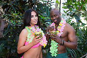NO FEE PICTURES<br /> 15/1/16 Dublin, 15th January, 2016   Brr, it's cold outside but there's lots of hot deals to be found at the Holiday World Show Dublin taking place in the RDS Simmonscourt from the 22nd – 24th January. Models Matthew John and Allanna are pictured at the launch of the show in the Botanic Gardens today. For further information on the Holiday World Show 2016 visit www.holidayworldshow.com . Picture: Arthur Carron