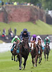 Sir Dragonet ridden by Donnacha O'Brien wins The MBNA Chester Vase Stakes, during Boodles City Day at Chester Racecourse, Chester.