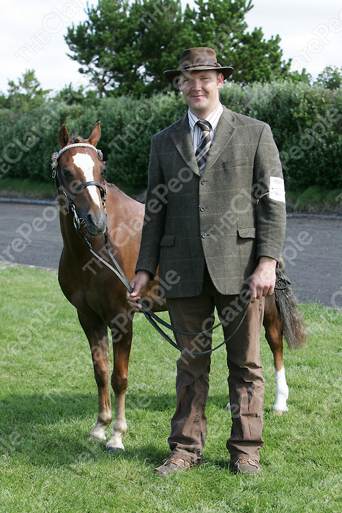 PIctured at the Mullagh show in County clare on Sunday 21st August 2011 was Tony Glynn (Taffy ardrahan)<br /> Emma Jervis Press 22
