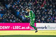 (1) Hugo Lloris of Tottenham Hotspur, celebrate goal during the Premier League match between Crystal Palace and Tottenham Hotspur at Selhurst Park, London, England on 25 February 2018. Picture by Sebastian Frej.