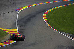 August 27, 2017 - Francorchamps, Belgium - KIMI RAIKKONEN of Finland and Scuderia Ferrari drives during the 2017 Formula 1 Belgian Grand Prix in Francorchamps, Belgium. (Credit Image: © James Gasperotti via ZUMA Wire)