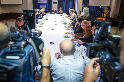 Ministro-Chefe da Casa Civil, Eliseu Padilha, durante almoço com o Clube de Opinião, em Porto Alegre. Foto: Jefferson Bernardes/ Agência Preview