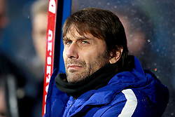 Chelsea's manage Antonio Conte during the Premier League match at the John Smith's Stadium, Huddersfield.