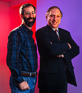 Dan Bricklin (L) and Russell Werner founders of Trellix