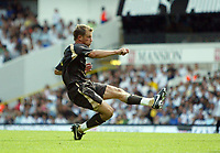 Photo: Chris Ratcliffe.<br /> Tottenham Hotspur v Inter Milan. Pre Season Friendly. 28/07/2006.<br /> Teemu Tainio of Spurs scores the second Spurs goal of the game.