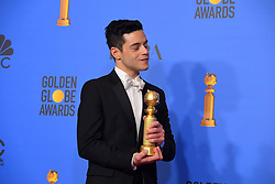January 6, 2019 - Los Angeles, California, U.S. - Rami Malek in the Press Room during the 76th Annual Golden Globe Awards at The Beverly Hilton Hotel. (Credit Image: © Kevin Sullivan via ZUMA Wire)