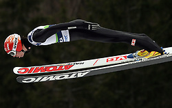 Anders Bardal (NOR) at Qualification's 1st day of 32nd World Cup Competition of FIS World Cup Ski Jumping Final in Planica, Slovenia, on March 19, 2009. (Photo by Vid Ponikvar / Sportida)