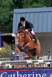 Theeuwes Harrie-Subliem van't Paradijs<br /> Kampioenschap Jonge Paarden Gesves 2000<br /> Photo © Dirk Caremans