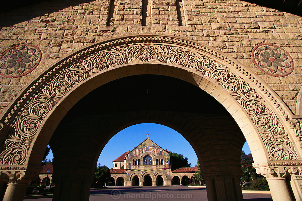 Silicon Valley, California; Stanford University.