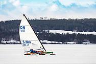 ÖSTERSUND 20210402<br /> Isjakt på Storsjön.<br /> <br /> Foto: Per Danielsson/Projekt.P
