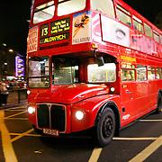 Bus 13 to aldwych, London, England (November 2004)
