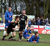Photo: Mark Stephenson.<br /> Chasetown v Cardiff City. FA Cup Third Round. 05/01/2008<br /> Cardiff's Alan Ramsey celebrate his goal for 2-1