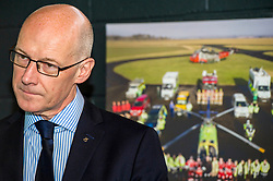 Pictured: John Swinney<br /> Deputy First Minister and local MSP  John Swinney visited Perth Airport today to visit Scotland's Charity Air Ambulance. The Perthshire North MSP will meet volunteers and present certificates to mark the start of National Volunteers' Week.<br /> <br /> <br /> Ger Harley | EEm 1 June 2018