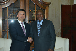 PRETORIA, Dec. 6, 2018  South African President Cyril Ramaphosa (R) meets with Song Tao, head of the International Department of the Communist Party of China Central Committee, in Pretoria, South Africa, on Dec. 4, 2018.  zxj) (Credit Image: © Zhao Xi/Xinhua via ZUMA Wire)