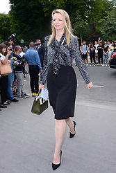 Delphine Arnault attending the Dior Homme show during the Paris Men's fashion Week Spring Summer 2018, in Paris, France on june 24, 2017. Photo by Aurore Marechal/ABACAPRESS.COM