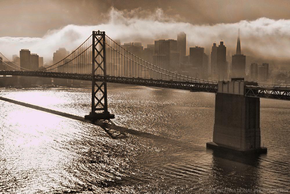 Bay Bridge & San Francisco Skyline